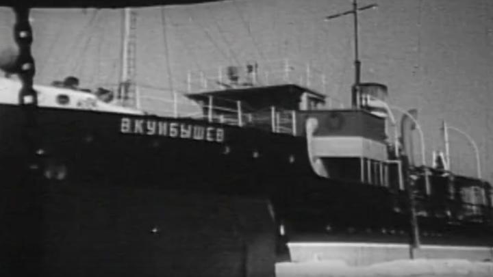 Кадры истории: каким был речной порт в Красноярске 70 лет назад