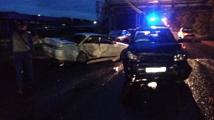 В Ленинском районе столкнулись две «Тойоты»— есть пострадавшие