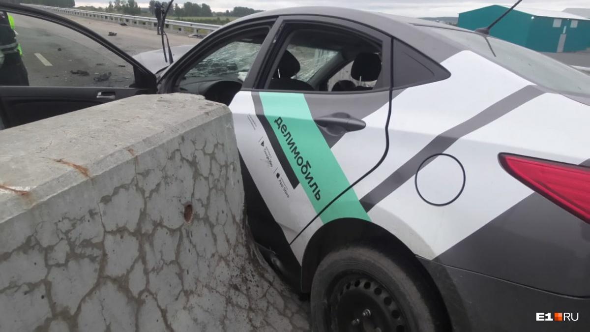 После автокатастрофы девушка прошла медосвидетельствование, которое подтвердило, что она нетрезвая