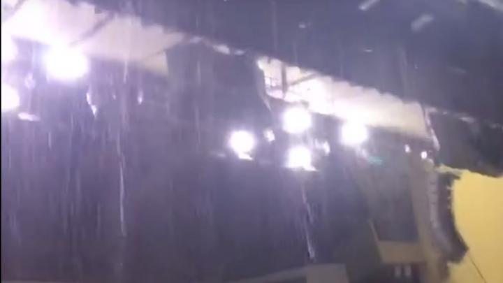Концерт Шевчука в Уфе под угрозой срыва из-за потопа на сцене ГКЗ «Башкортостан»