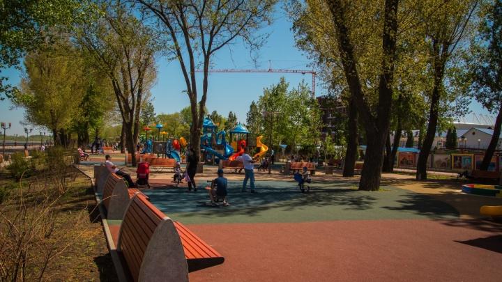 На сквер «Осенний» в Пролетарском районе мэрия выделит больше 26 миллионов рублей