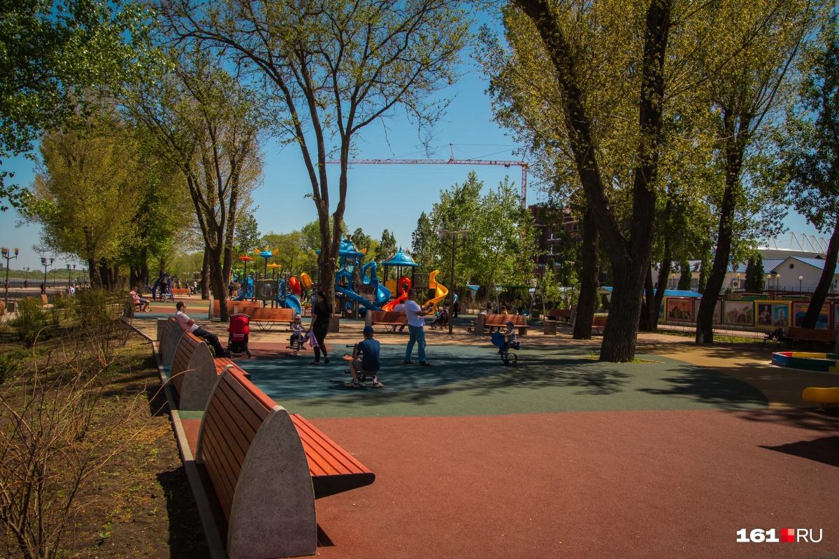 На новые парки и скверы потратят больше 30 миллионов рублей