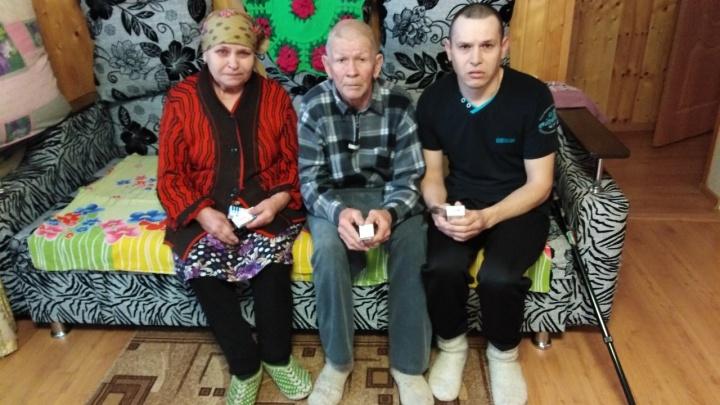 Семью инвалидов выгоняют из дома в Башкирии из-за долгов сына по кредиту