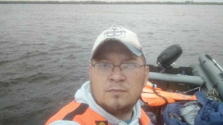 В районе Мудьюга ищут пропавшего рыбака