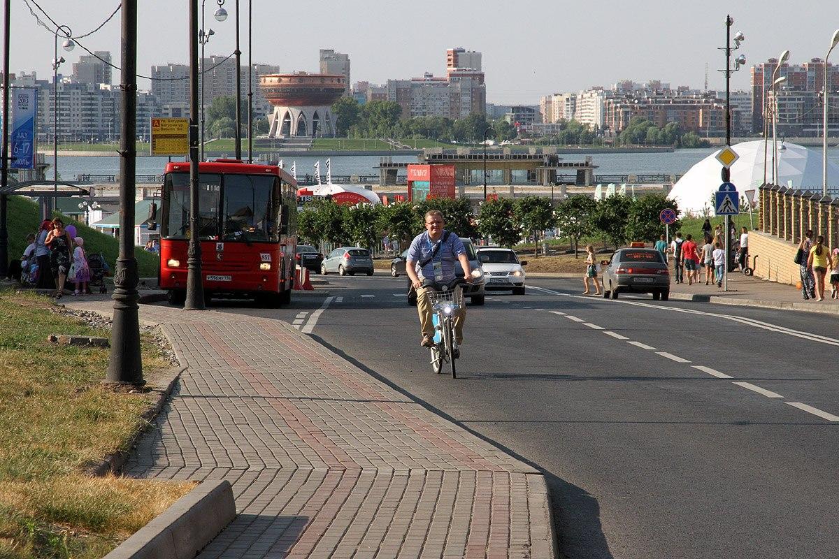 К Универсиаде в Казани не только обновили общественый транспорт, но и создали систему проката велосипедов