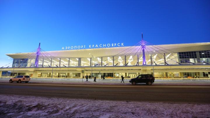 Из-за гололеда на взлетной полосе закрыли аэропорт Красноярск