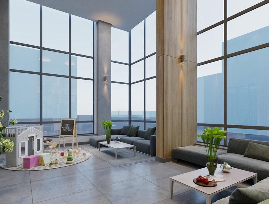 С верхних этажей клубного дома можно любоваться Уктусскими горами