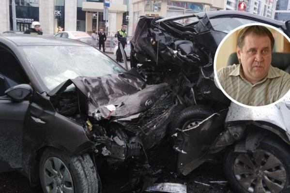 Олег Забродин был уверен, что водитель KIA находился под воздействием наркотических веществ