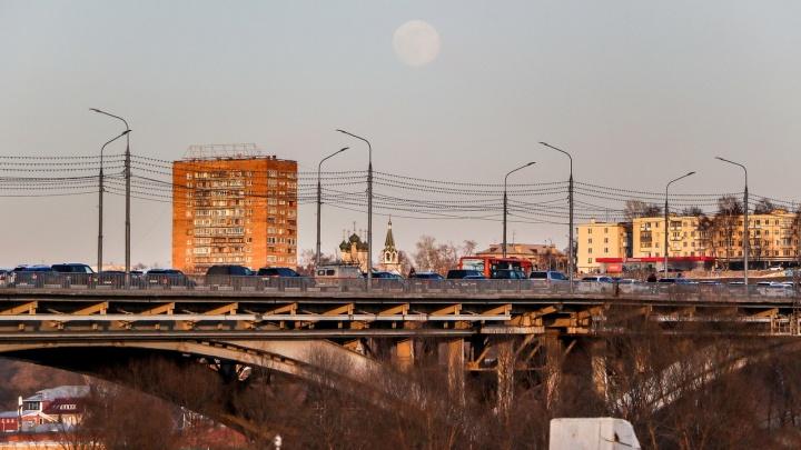 Фото дня. Романтика нижегородских пробок