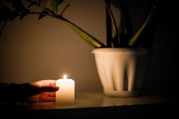 Света в домах нет уже больше трех часов