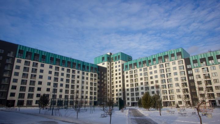 Скоро будет солнечно: как выглядит жилой квартал в самом молодом районе Екатеринбурга