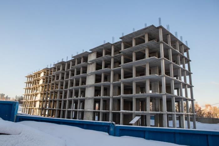 6% строек в Новосибирске брошены застройщиками и признаны долгостроями