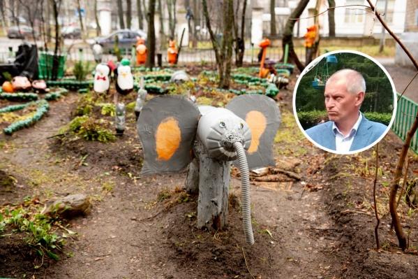 Компания «Горзеленхозстрой» в прошлом году отдувалась за скандалы с детскими городками