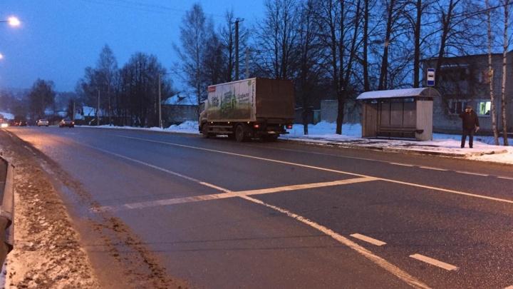 В Ярославской области грузовик на федеральной трассе сбил 7-летнего мальчика