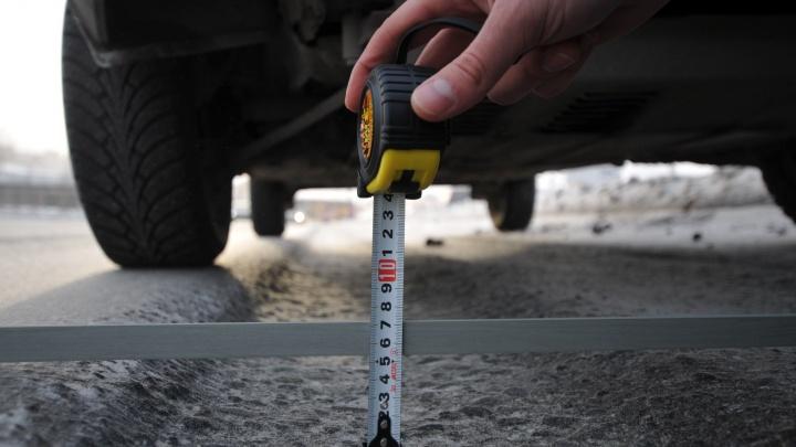 На Серовском тракте поставили знаки ограничения скорости до 50 км/ч