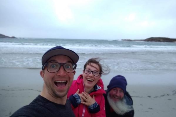 Евгения признается, что самым ярким впечатлением для нее стала встреча с океаном