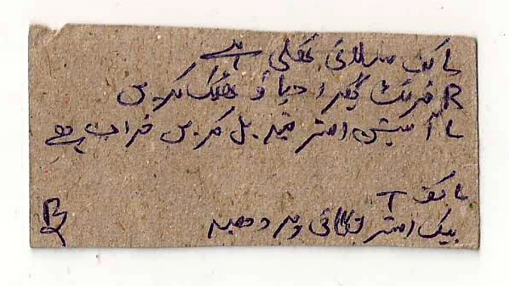 Тайна раскрыта — записку на языке урду, найденную новосибирцем в новой куртке, перевел профессор из Пакистана