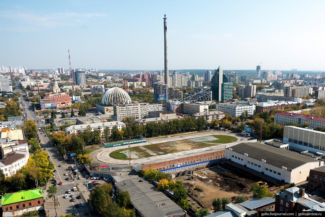 Именно она отличала Екатеринбург от других городов