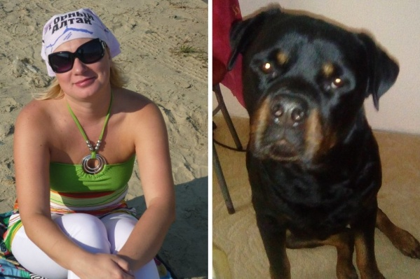 Тюменка вывела собаку на прогулку в районе улиц Николая Семёнова и Самарцева