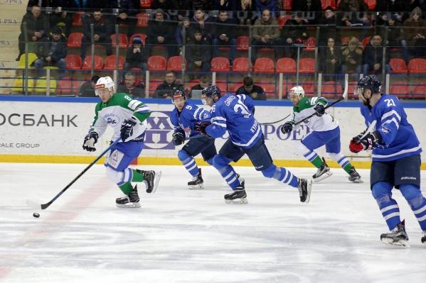 Дубль Цыганова, шайба Гуляева и крепкая оборона принесли команде победу