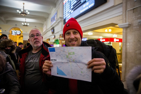 Буддисты из 19 стран прибыли сегодня на новосибирский вокзал