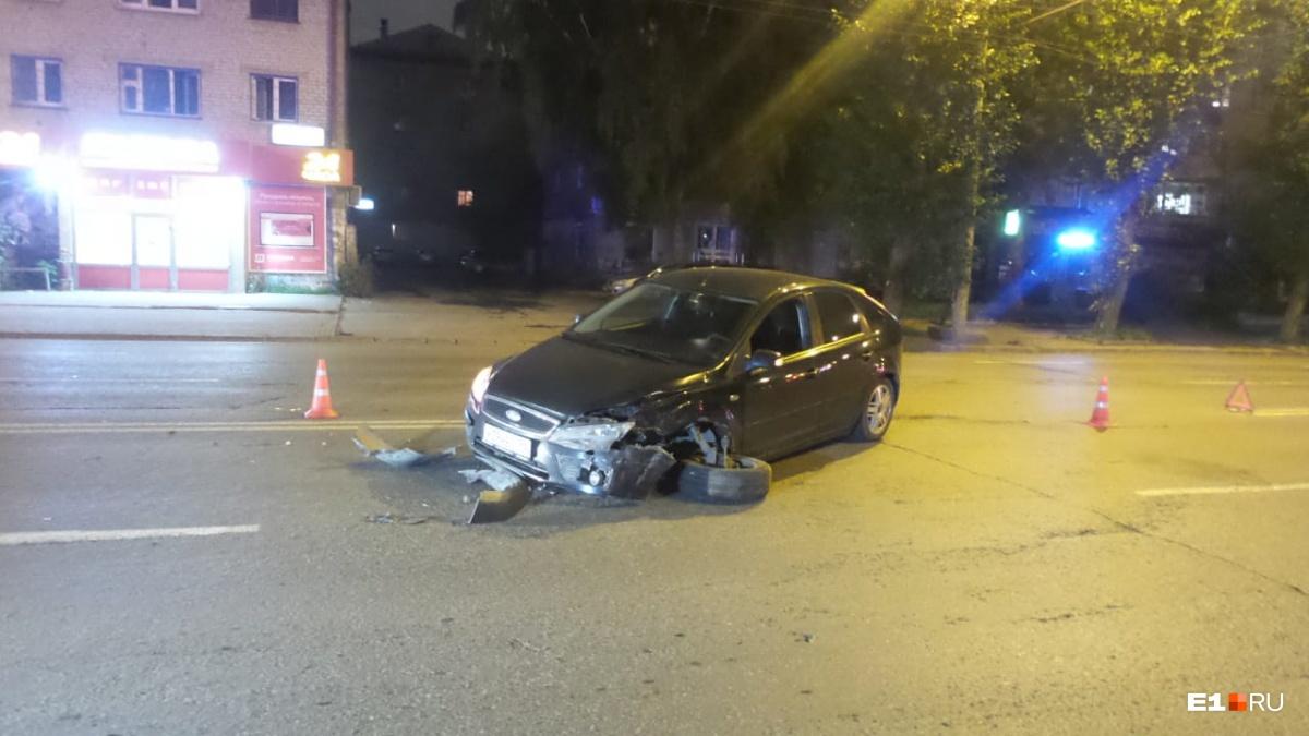 В Ford никто не пострадал