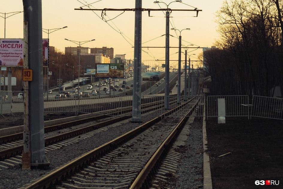 Обустройство трамвайной ветки сильно преобразило Московское шоссе