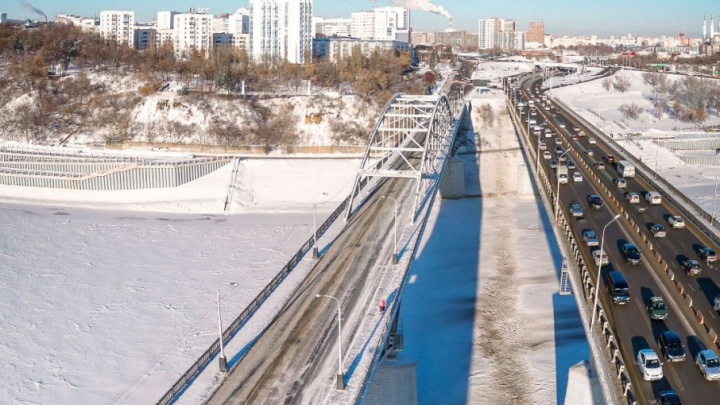 На новом Бельском мосту в Уфе изменят схему движения
