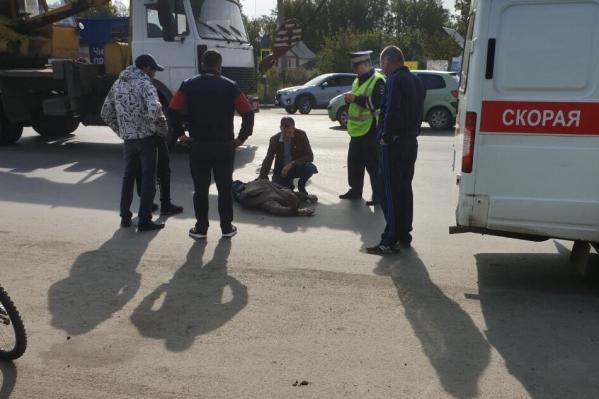 ДТП произошло на недавно отремонтированной дороге около проходной СНТ «Мичуринец»