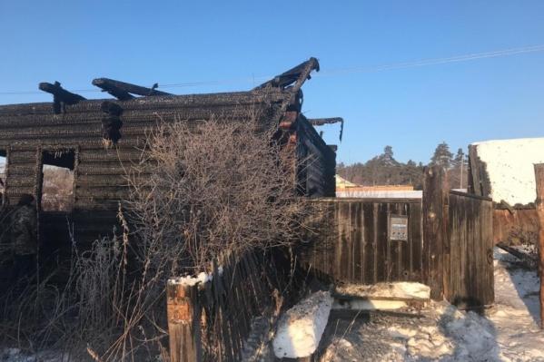 Тело квартиранта обнаружили после тушения пожара