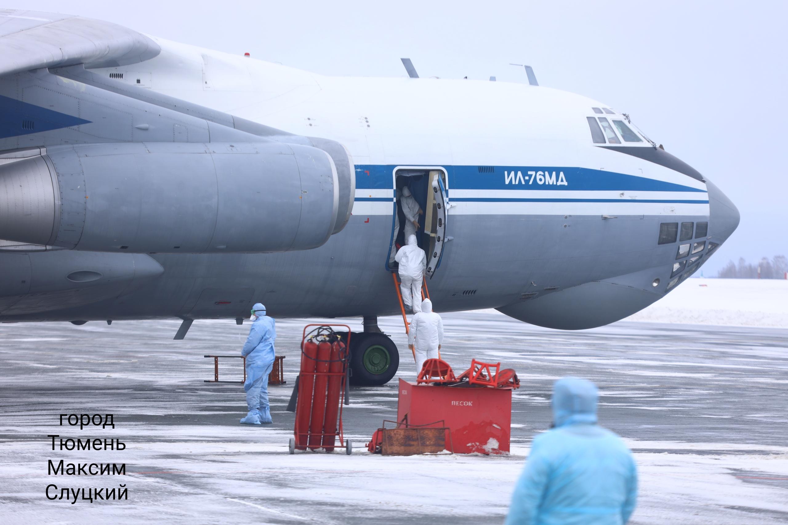 Всех россиян и жителей СНГ доставляют в Россию военными самолётами