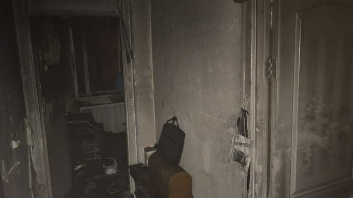 В Кургане при пожаре погибли два человека. Следователи начали проверку