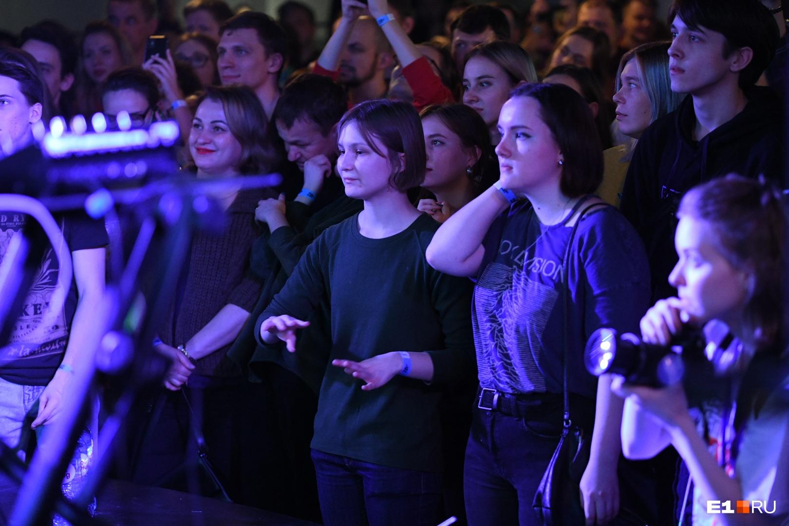 ЗрителиOQJAV в Екатеринбурге одни из самых активных