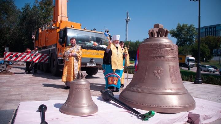 В Софийском соборе Самары торжественно освятили колокола