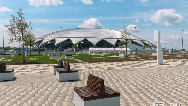 Самарцы предложили пустить автобус №45 около стадиона «Самара Арена»