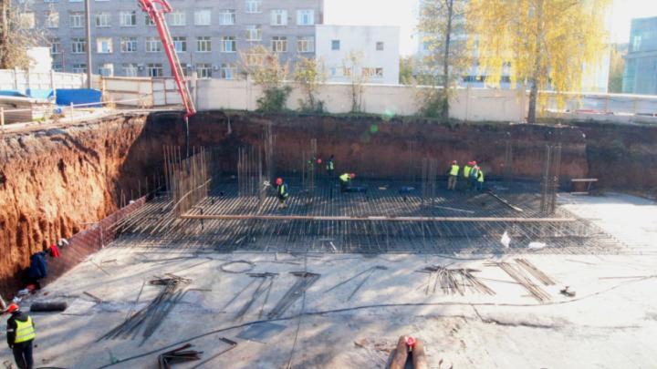 В Уфе начали строить новый корпус онкодиспансера