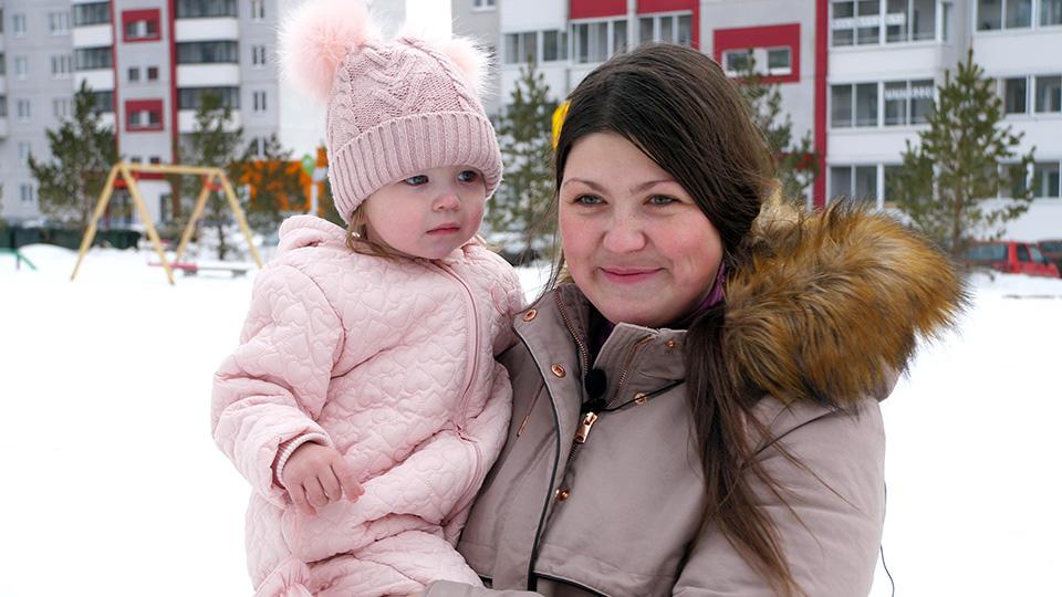 Юлия Черкасова, мама троих детей, жительница микрорайона«Вишневая горка»