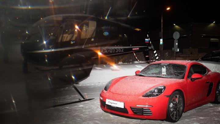 «Ночь. Porsche. Вертолеты»: уникальное сочетание инноваций и традиций презентовано в новом формате