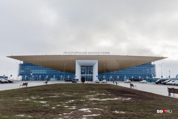 Самолёт задержался в пермском аэропорту более чем на час