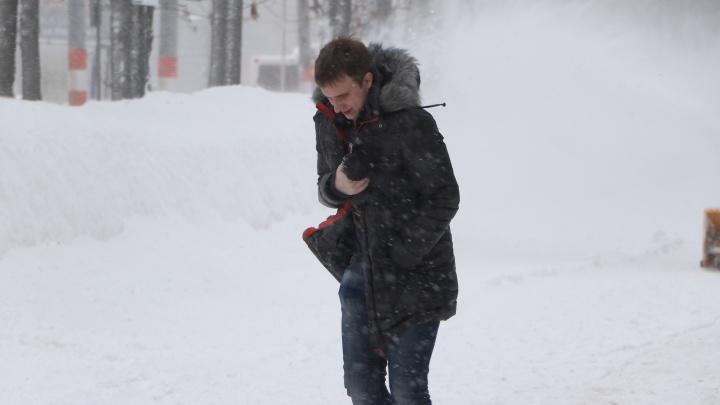 Снег, метель и гололед. Нижегородцев предупредили об ухудшении погоды