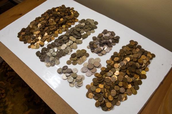 Монеты можно менять бесплатно в течение семи дней
