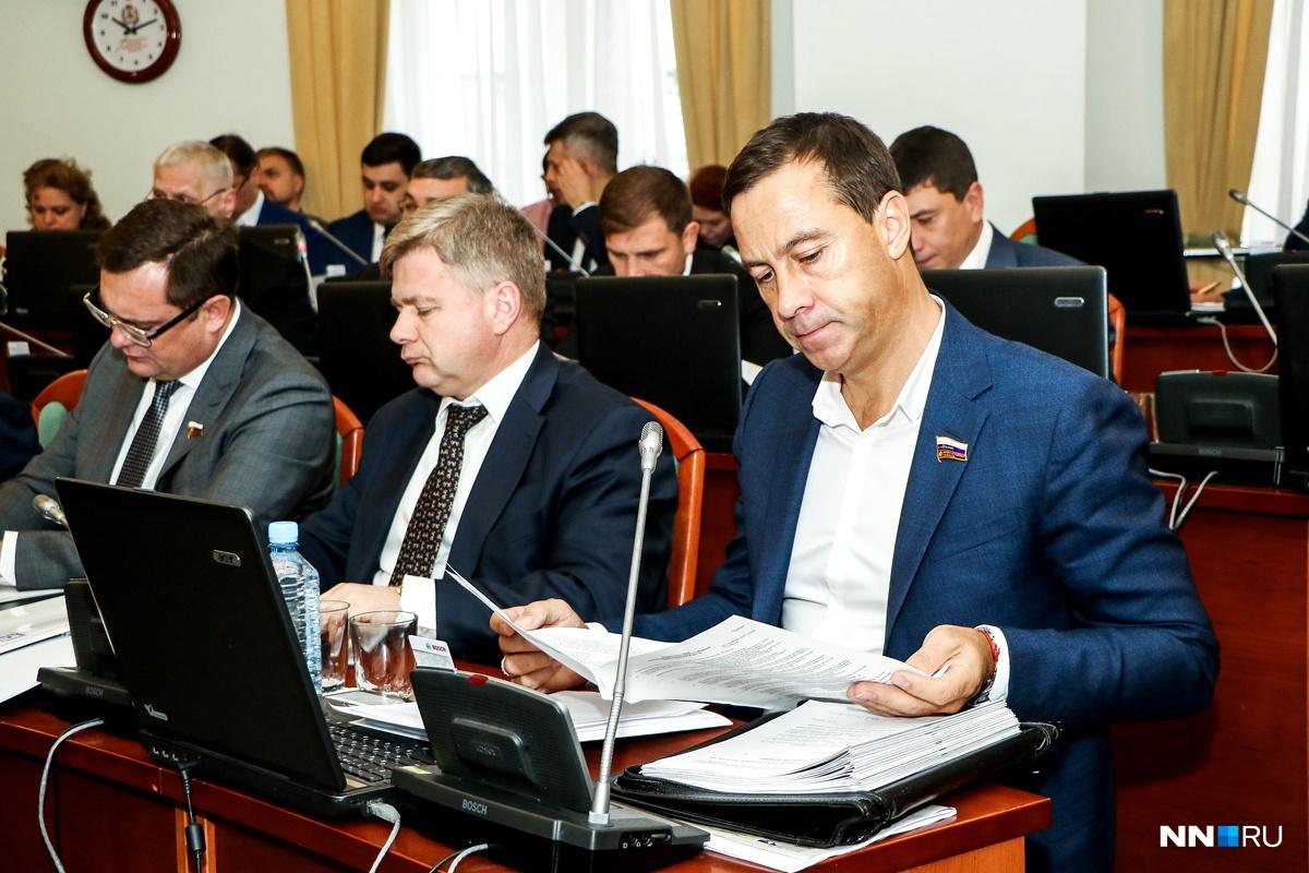 Депутат Заксобрания Александр Бочкарев схвачен вНижнем Новгороде