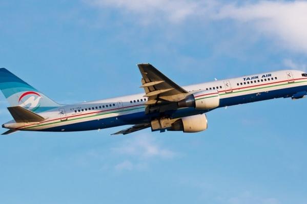 Как и прежде,Tajik Air планирует летать в Новосибирск из двух городов Таджикистана