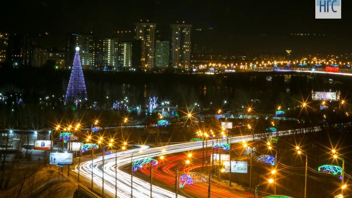 После фейерверка на Татышеве красноярцев будут забирать пустые автобусы
