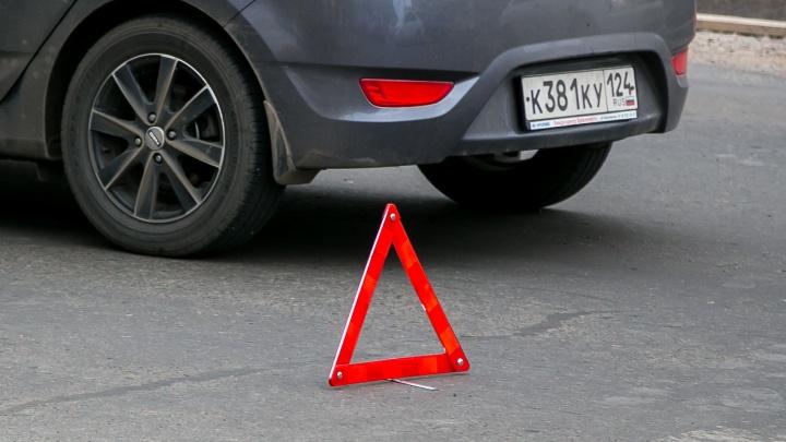 Молодой водитель сбежал с места ДТП и соврал об угоне
