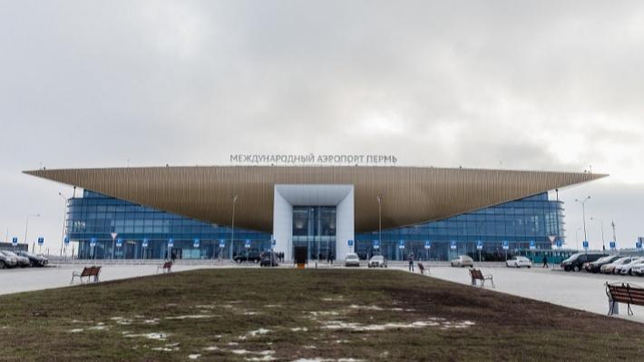 Пермский аэропорт не принимал и не отправлял рейсы из-за надвигающегося ледяного дождя