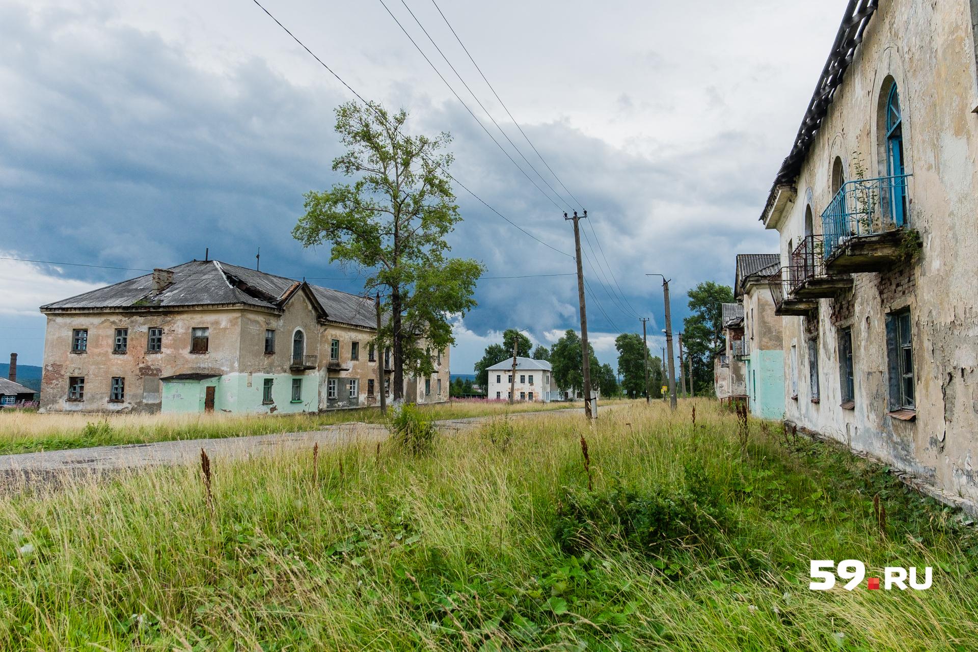 Эти дома строили пленные немцы