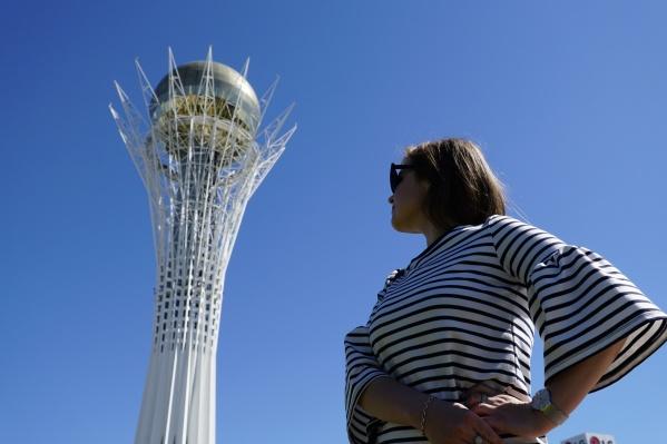 Огромный монумент считается символом столицы и всего Казахстана