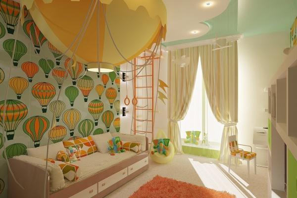 Территория ребёнка: как выбрать обои в детскую, чтобы смотрелись гармонично и были полезны хозяину