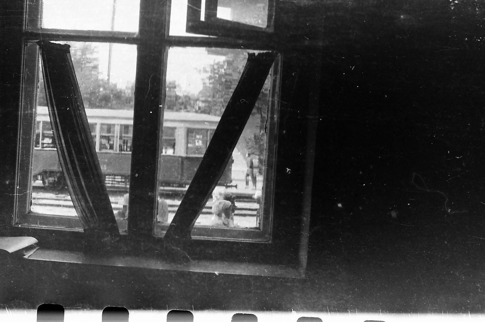 Вид из окна одного из легендарных вытрезвителей — «Чудильника» на Серебренниковской